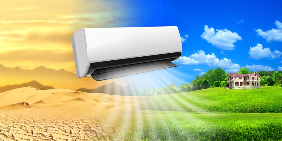 Varmepumper der styrer temperatur